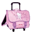 jouets Cartable � roulettes Hello Kitty rose