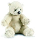 jouets Peluche ours polaire Anima 35 cm
