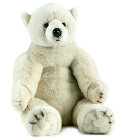 jouets Peluche ours polaire Anima 70 cm