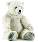 jouets Peluche ours polaire Anima 100 cm