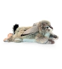 Peluche lapin gris couch� Anima 43 cm jouets