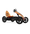 jouets Kart pédales Berg Rally orange