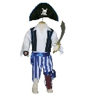 jouets Costume Pirate 6-8 ans