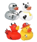 lot 4 canards de bain jouets