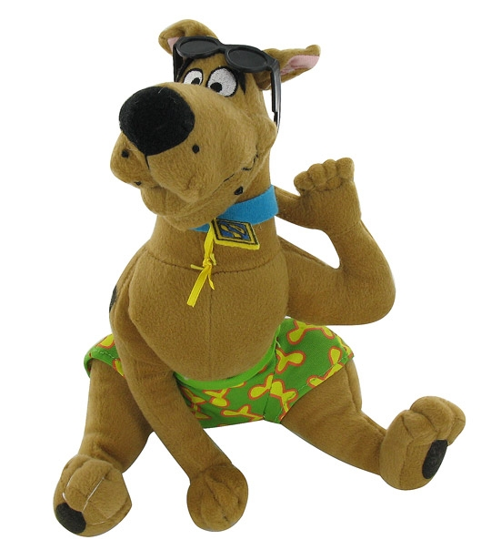 peluche scooby doo la plage jouet et des jeux. Black Bedroom Furniture Sets. Home Design Ideas