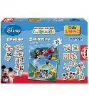jouets Superpack Mickey - Domino, puzzle, memory