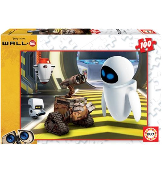 puzzle wall e 100 pieces jouet et des jeux et. Black Bedroom Furniture Sets. Home Design Ideas