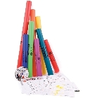 Pack boomwhackers 8 tubes+CD+fiches  jouets