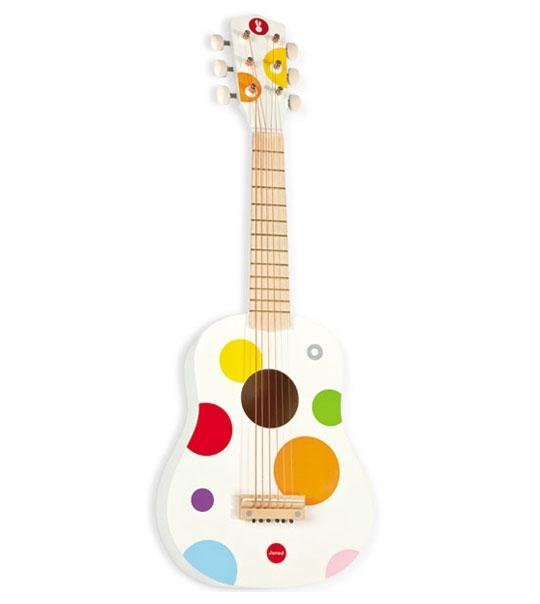 impression de l 39 article guitare pour enfant confetti. Black Bedroom Furniture Sets. Home Design Ideas
