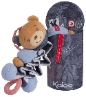 jouets Doudou Kaloo Blue Denim zig music ourson