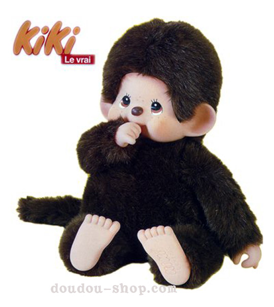 impression de l 39 article peluche kiki le petit singe des ann es 80 en 70cm jouet et. Black Bedroom Furniture Sets. Home Design Ideas