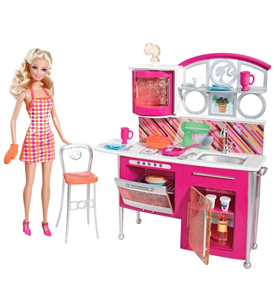 impression de l 39 article mobilier barbie cuisine quip e jouet et des jeux et jouets. Black Bedroom Furniture Sets. Home Design Ideas