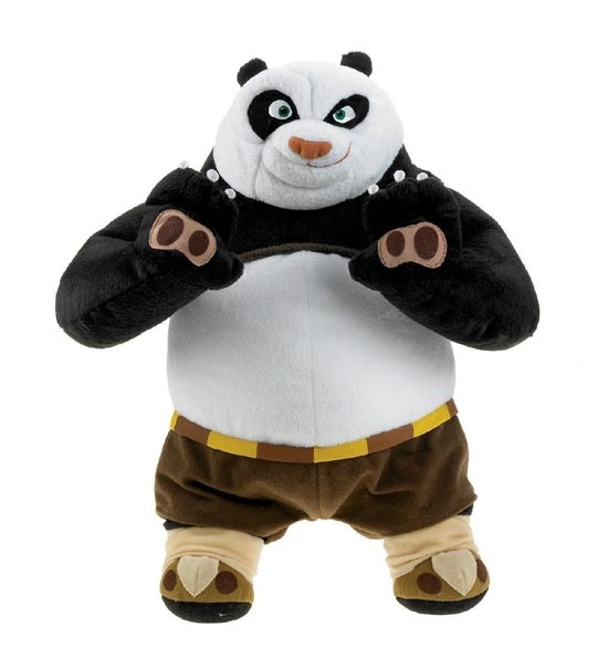 impression de l 39 article peluche kung fu panda po jouet et des jeux et jouets pour. Black Bedroom Furniture Sets. Home Design Ideas