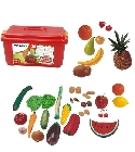 Assortiment de fruits et l�gumes jouets