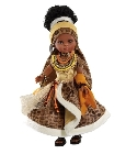 jouets Nora princesse Africaine 32cm