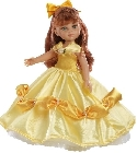 jouets Cristi princesse robe or