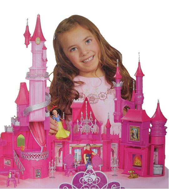 impression de l 39 article les minis princesses le chateau disney jouet et des jeux. Black Bedroom Furniture Sets. Home Design Ideas