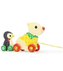 jouets Jouet musical ours et pingouin