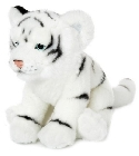 Peluche WWF tigre blanc couch� 23 cm jouets